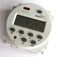 AC 220-240V Digital LCD Power Programmable Timer Time AC Switch Relay 16A Amps