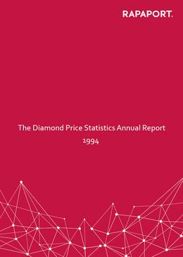 Rapaport Diamond Price Statistics Annual Report 1994