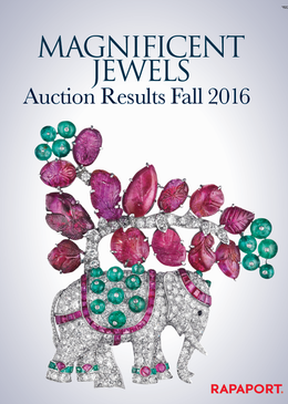 Magnificent Jewels Auctions Results -– Fall 2016
