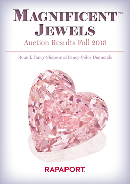 Magnificent Jewels Auction Results - Fall 2018