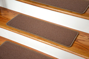 "Dean Premium Stainmaster Nylon Carpet Stair Treads - Odette Point Mantle (13) 30"" x 9"""