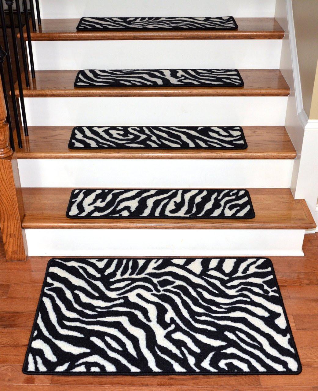 30 Quot X 9 Quot Zebra Stair Treads 13 Amp 2 X 3 Landing Mat