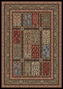 """Dean Panel Eden Multi Oriental Area Rug 5'3"""" x 7'7"""" (5x8)"""