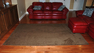 "Premium Carpet Stair Treads 27"" x 9"" Timberline 70 Oz PLUS a Matching 6' Runner and 6'x9' Area Rug"