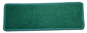 "Dean Premium Stair Gripper Non-Slip Tape Free Pet Friendly DIY Nylon Carpet Stair Treads/Rugs 23"" x 8"" (15) - Color: Mountain Pine Green"