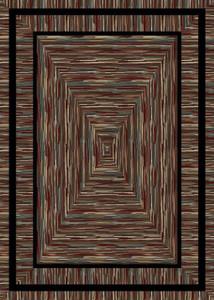 "Dean Barnsley Multi Rustic Southwestern Lodge Cabin Ranch Area Rug Size: 7'10"" x 9'10"""