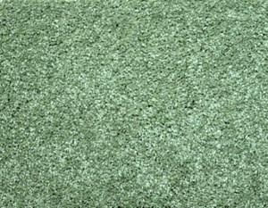 Citrus Green Plush 6' x 8' Bound Carpet Area Rug