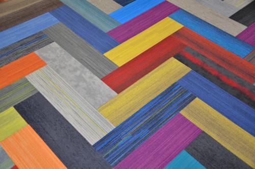 Dean Commercial Carpet Tile Set Of 20 Assorted Colors