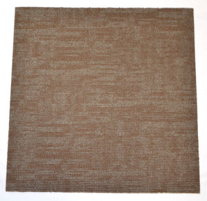 "DIY Carpet Tile Squares - Duplicate Brown - 24"" x 24"" Box of 12 (48 sf)"