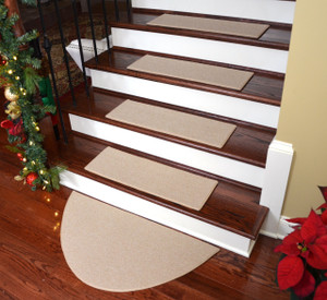 Modern Stair Treads Solid Color And Patterned Treads