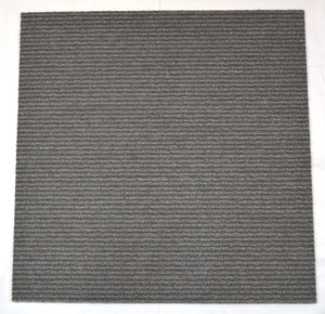 Dean DIY Carpet Tile Squares - Medium Gray - 48 SF Per Box -12 Pieces Per Box