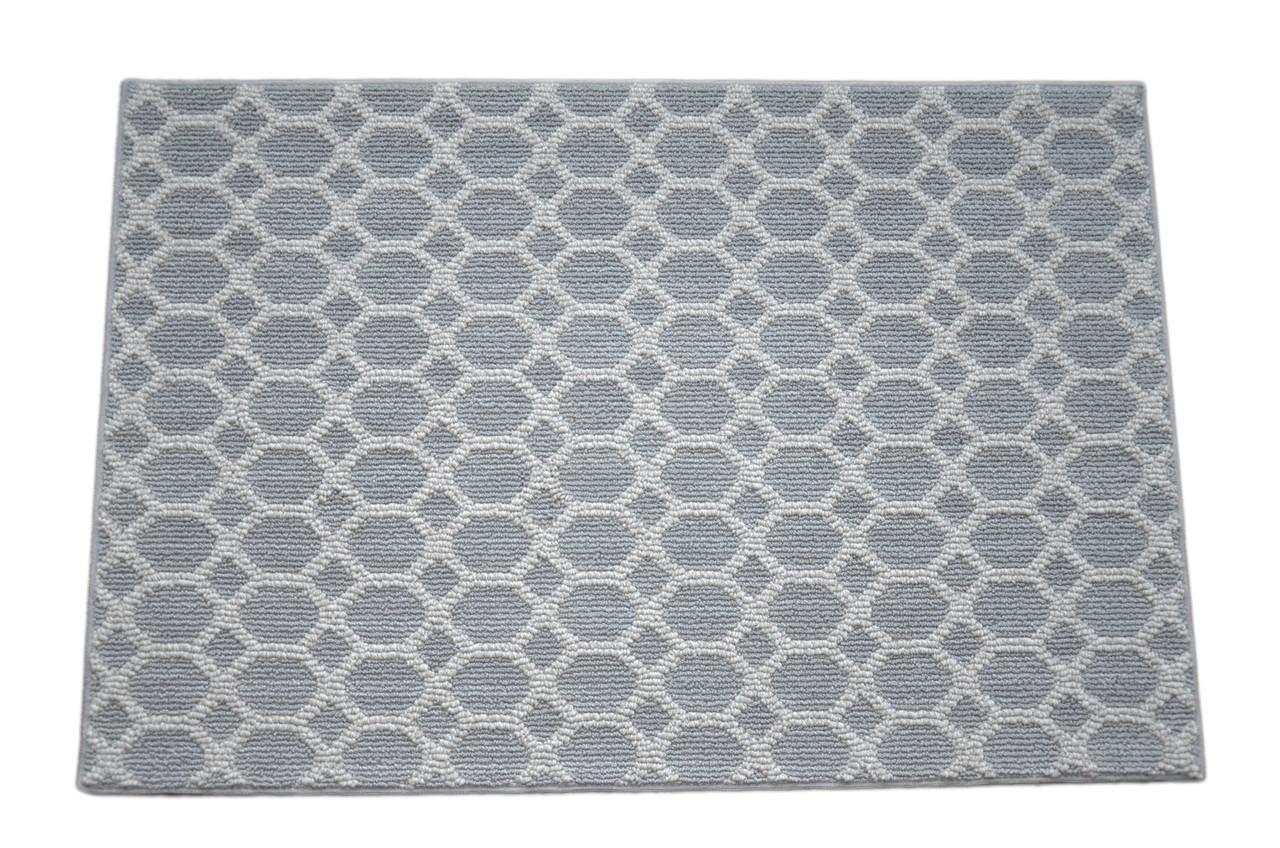 Dean Silverado Gray Stainmaster Nylon 5 X 8 Bound Carpet