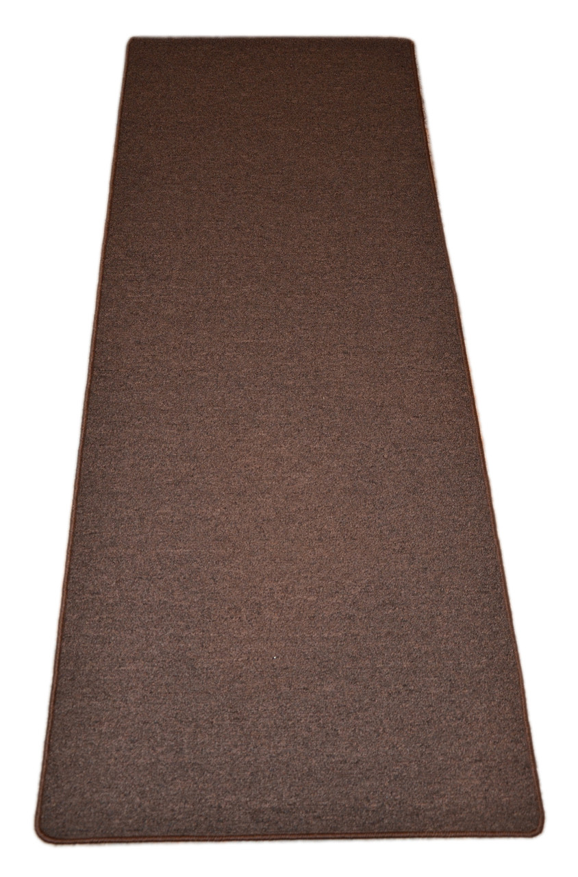 Dean Urban Legend Brown Washable Non Slip Carpet 27 Inch