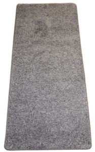 Dean Eiffel Tower Gray Washable Non-Slip Carpet 27 Inch by 6 Foot Kitchen/Bath/Door Mat/Landing Runner Rug