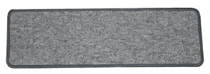 Dean Tape Free Pet Friendly Premium Non-Slip Stair Gripper Carpet Stair Treads - Dakota Fossil Gray (Set of 15) 27 Inches by 9 Inches Each