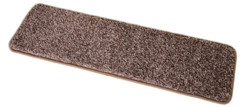 Dean Fresh Coffee Brown Washable Carpet Stair Treads