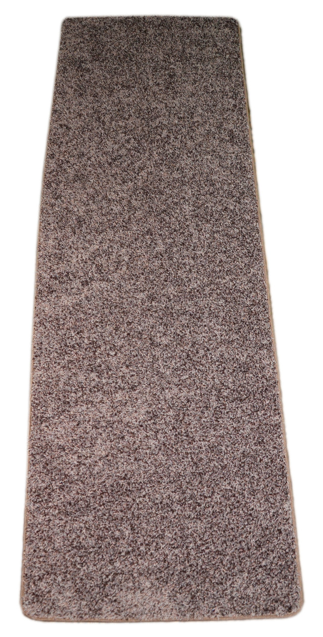 Dean Fresh Coffee Brown Washable Non Slip Carpet 27 Inch