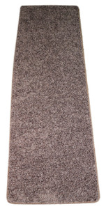 Dean Fresh Coffee Brown Washable Non-Slip Carpet 27 Inch by 6 Foot Kitchen/Bath/Door Mat/Landing Runner Rug