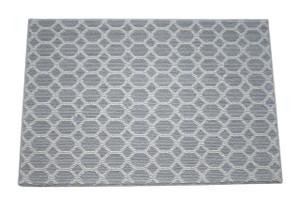 Dean Pet Friendly Silverado Gray Stainmaster Nylon 2' x 3' Bound Carpet Mat/Rug