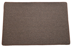 Dean Urban Legend Brown Washable Non-Slip Area/Accent Rug 5 Foot by 8 Foot