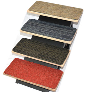 "Dean Affordable DIY Non-Skid Carpet Stair Treads (Set of 15) 18"" x 8"" - Color: Mosaic"