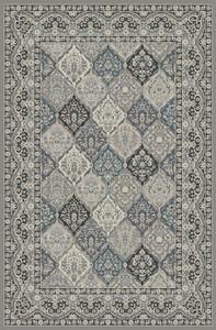 "Dean Panel Kerman Gray Traditional Oriental Area Rug 7'10"" x 9'10"" (8x10)"