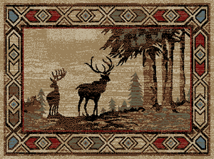 Dean Flooring Company Lodge Amp Cabin Themed Area Rugs