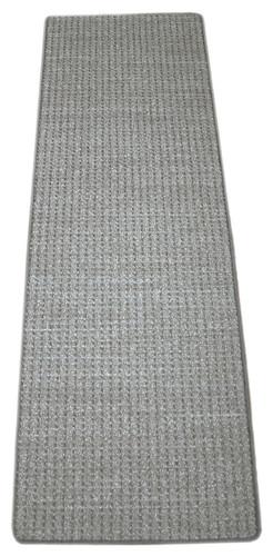 Slate Gray Non Slip Runner Rug 2 X 6