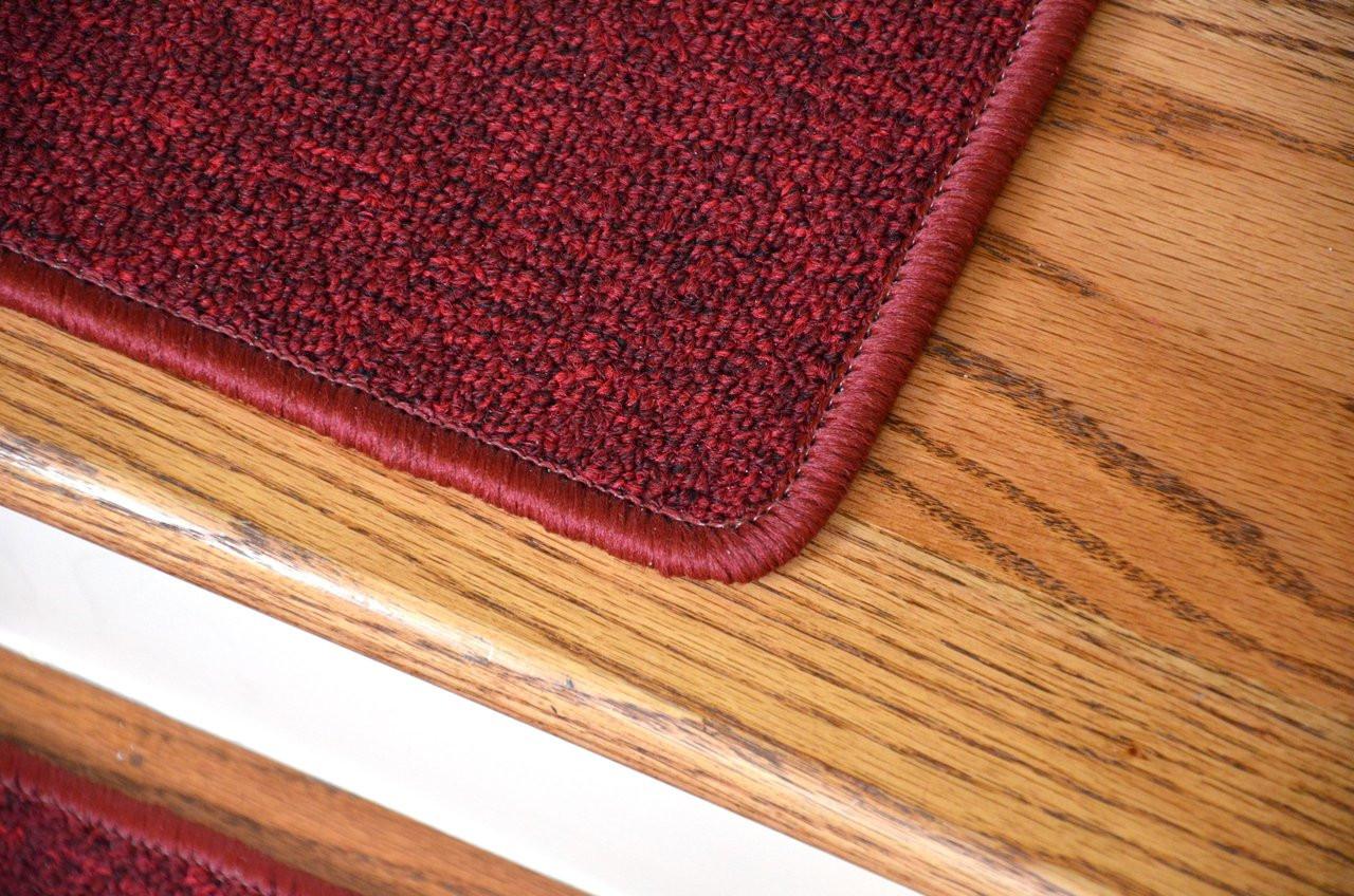 Dean Serged Diy Carpet Stair Treads 27 Quot X 9 Quot Cardinal