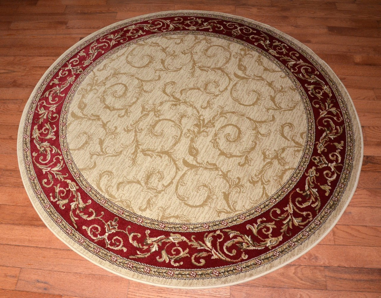 Dean Tan Scrollworks 5 3 Quot Round Area Accent Landing Rug