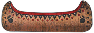 "Dean Etowah Canoe Bear Lodge Cabin Carpet Runner Rug Size: 2'10"" x 7'7"""