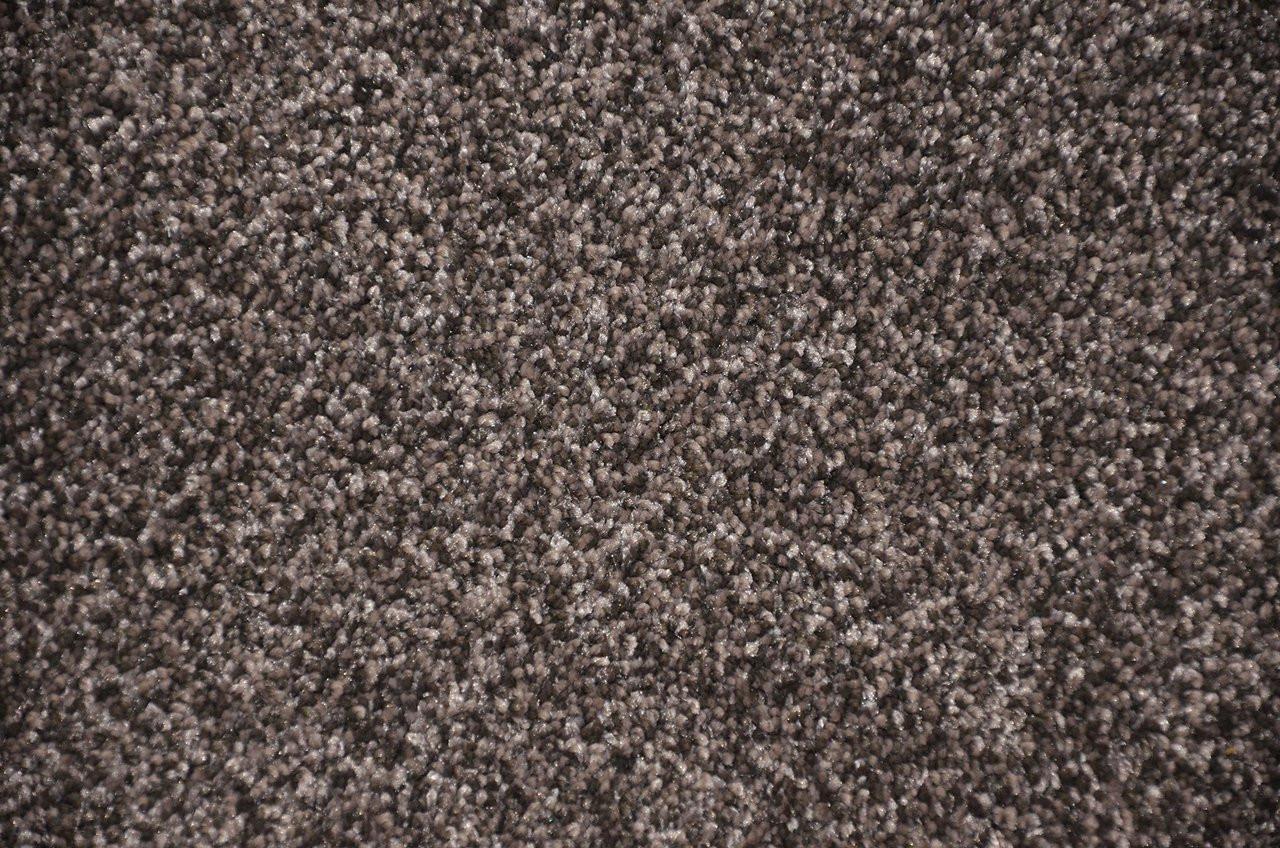 Smokey Hill 5 X 7 Gray Plush Serged Carpet Area Rug