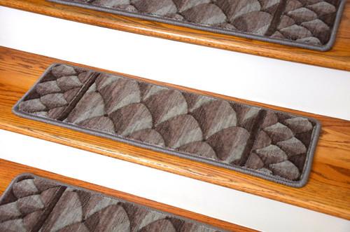 Dean Premium New Zealand Wool Carpet Stair Treads