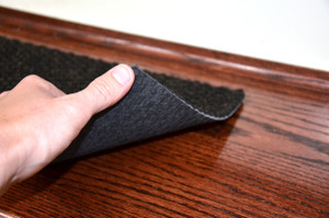 Dean Carpet Stair Treads/Runners/Mats/Step Covers - Black Hobnail Indoor/Outdoor Non-Skid Slip Resistant Rugs