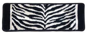 "Dean Tanzania Onyx Zebra Ultra Premium Stair Gripper Non-Slip Tape Free Pet Friendly DIY Nylon Carpet Stair Treads/Rugs 27"" x 9"" (15)"