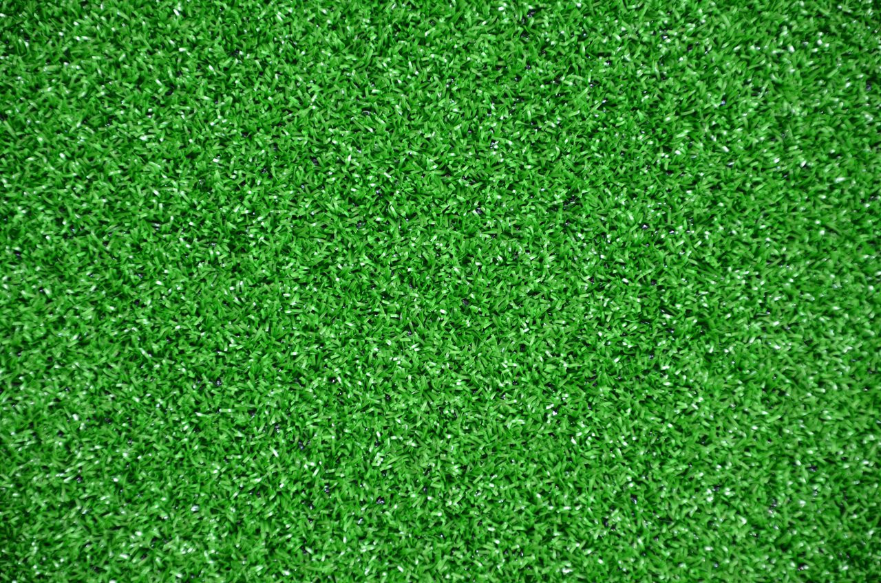 Dean Indoor Outdoor Green Artificial Turf Rug 6 X 8