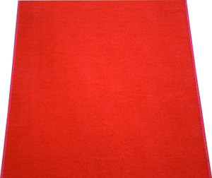 Dean Red Carpet Runner - Indoor/Outdoor Wedding Aisle Boat Event Party Rug 2' x 35'