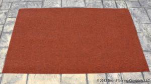 Dean Indoor/Outdoor Walk-Off Entrance Carpet Door Mat/Rug - Terra Cotta - 4' x 6'