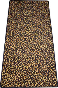 "Dean Leopard Animal Print 30"" x 6' Carpet Runner Rug"