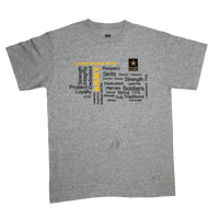 MADE IN USA Graffiti  T-Shirt - Army