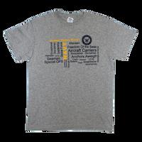 MADE IN USA Graffiti  T-Shirt - Navy