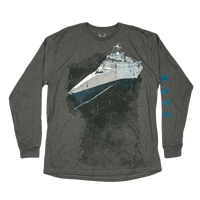 Made in the USA: US Navy Long Sleeve Pocket T-shirt