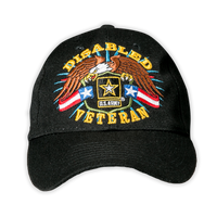 Caps - Disabled Veteran - Army