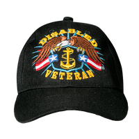 Caps - Disabled Veteran - Navy