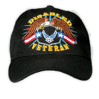 Caps - Disabled Veteran - Air Force