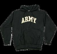 Hoodies - Applique Pullover - Army