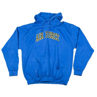 Hoodies - Applique Pullover - Air Force
