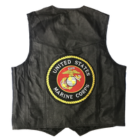 Vest - Leather - Marines