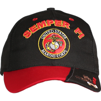 Made in the USA: US Marines Slogan Cap