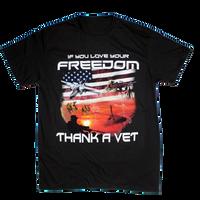 T-Shirts - Thank A Vet S/S